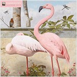 Flamingoes Wall Calendar 2019 (Art Calendar) (Calendar, New ed)