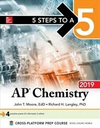 5 Steps to a 5: AP Chemistry 2019 (Paperback)