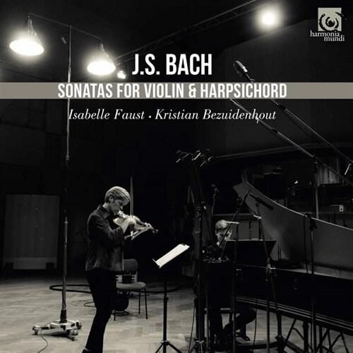 [수입] 바흐 : 바이올린과 하프시코드를 위한 소나타 BWV1014-1019 [디지팩 2CD]