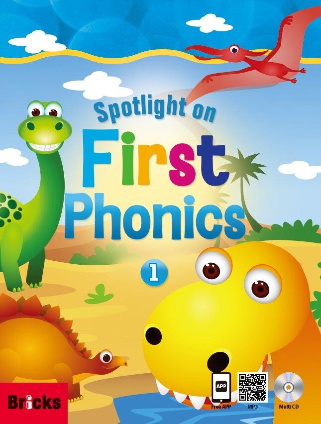 Spotlight on First Phonics 1 세트 (Student Book + Story Book + CD 3장 + App)