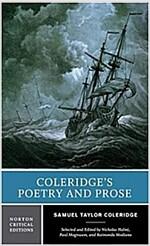 Coleridge's Poetry and Prose: Authoritative Texts Criticism (Paperback)