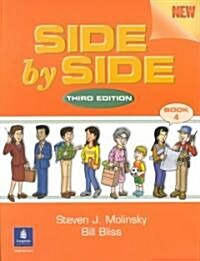 Side by Side 4 (Paperback, 3, Student)