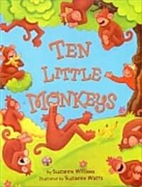 Ten Little Monkeys (Paperback)