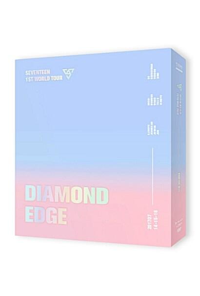 세븐틴 - 2017 SEVENTEEN 1ST WORLD TOUR DIAMOND EDGE IN SEOUL CONCERT DVD [3disc]