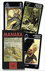 Manara Erotic Tarot (Paperback, Lo Scarabeo Dec)