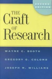 The craft of research 2nd ed