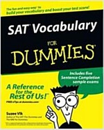 SAT Vocabulary for Dummies (Paperback)