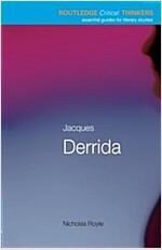 Jacques Derrida (Paperback)