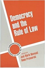 Democracy and the Rule of Law (Paperback)