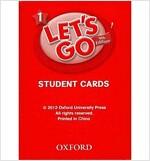 (4판)Let's Go 1: Student Cards (Cards, 4th Edition)
