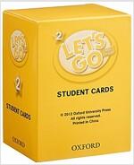 (4판)Let's Go 2: Student Cards (Cards, 4th Edition)
