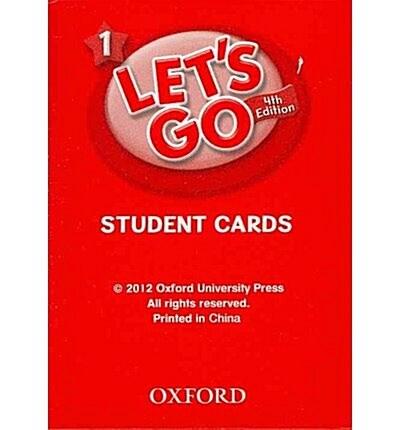 (4판)Lets Go 1: Student Cards (Cards, 4th Edition)