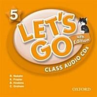 (4판)Lets Go 5: Class Audio CDs (CD 2장, 4th Edition)