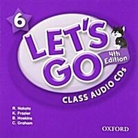 (4판)Lets Go 6: Class Audio CDs (CD 2장, 4th Edition)
