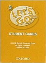 (4판)Let's Go 5: Student Cards (Cards, 4th Edition)