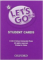 (4판)Let's Go 6: Student Cards (Cards, 4th Edition)