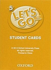 (4판)Lets Go 5: Student Cards (Cards, 4th Edition)