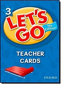 (4판)Lets Go 3: Teacher Cards (Cards, 4th Edition)
