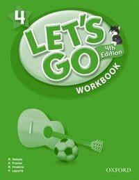 (4판)Let's Go 4: Workbook (Paperback, 4th Edition)