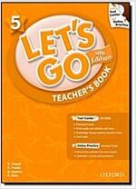 (4판)Let's Go 5: Teacher's Book (Paperback, 4th Edition)