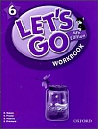 (4판)Lets Go 6: Workbook (Paperback, 4th Edition)