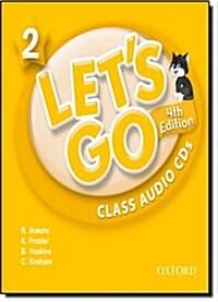 (4판)Lets Go 2: Class Audio CDs (CD 2장 , 4th Edition)
