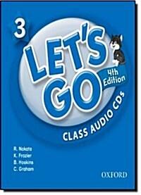 (4판)Lets Go 3: Class Audio CDs (CD 2장, 4th Edition)
