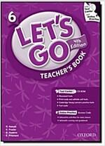 (4판)Let's Go 6: Teacher's Book (Paperback, 4th Edition)