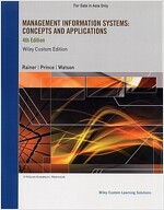 Management Information Systems: Concepts and Applications (Paperback , 4th)