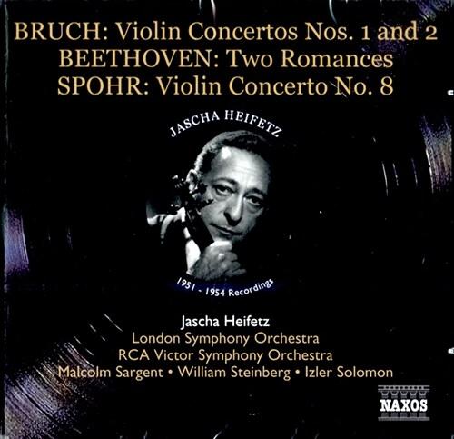 [수입] 하이페츠가 연주하는 베토벤, 부르흐 & 슈포어