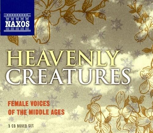 [수입] 천상의 피조물들 - 중세의 여성을 위한 음악들 [3CD]