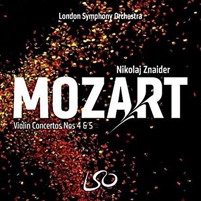 [수입] 모차르트 : 바이올린 협주곡 4, 5번 [SACD Hybrid]
