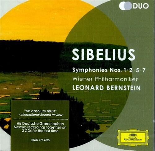 [수입] 시벨리우스 : 교향곡 1,2,5,7번