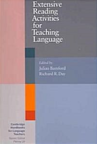 [중고] Extensive Reading Activities for Teaching Language (Paperback)
