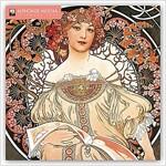Alphonse Mucha Wall Calendar 2019 (Art Calendar) (Calendar, New ed)