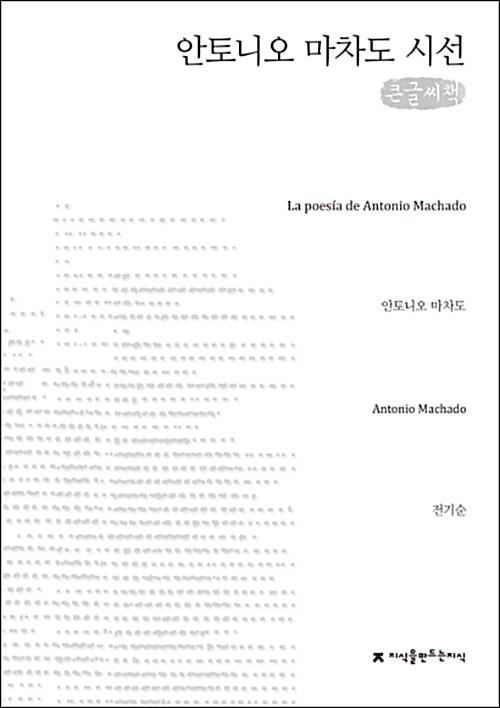 안토니오 마차도 시선 (큰글씨책)
