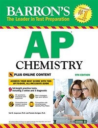 Barron's AP Chemistry with Online Tests (Paperback, 9)
