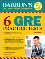 6 GRE Practice Tests (Paperback, 3)