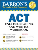 Barron's ACT English, Reading, and Writing Workbook (Paperback, 3)