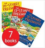 13층 나무집 시리즈 7종 세트 (영국판) (7 Paperback)