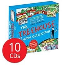 13층 나무집 시리즈 오디오북 5종 세트 (영국판, CD Only) (10 Audio CDs)