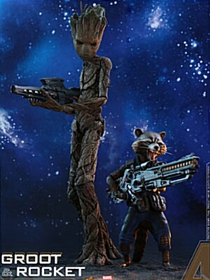 [Hot Toys] 어벤져스 인피니티워 그루트&로켓 콜렉터블 세트  MMS476 - Avengers: Infinity War 1/6th scale Groot & Rocket Collectible Set