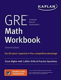 GRE Math Workbook: Score Higher with 1,000+ Drills & Practice Questions (Paperback)