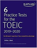 6 Practice Tests for Toeic Listening and Reading: Online + Audio (Paperback)