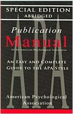 Publication Manual - Style Manual for Writers, Editors, Students, Educators, and Professionals 1957 (Paperback, Special, Reprin)