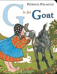 G is for Goat (Board Book)