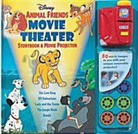 Disney Animal Friends Movie Theater Storybook & Movie Projector (Hardcover)