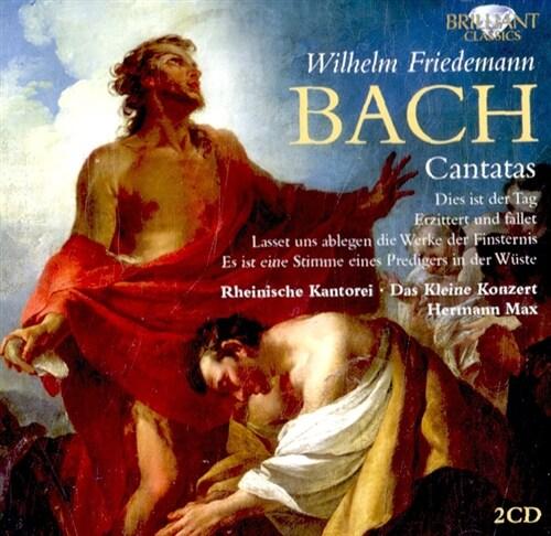 [수입] W.F. 바흐 : 칸타타 [2CD]
