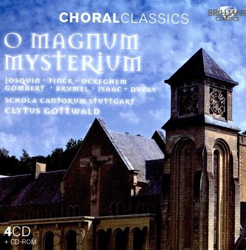 [수입] 오 위대한 신비여 - 1400-1500 르네상스 폴리포니스트 [4CD + CD-ROM]