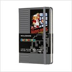 Moleskine Ltd. Edition Notebook, Super Mario, NES Cartridge / Grey, Pocket, Ruled Hard Cover (3.5 X 5.5) (Other)